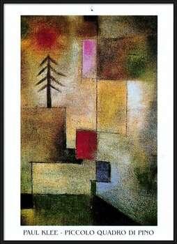 P.Klee - Piccolo Quadro Di Pino  Ingelijste poster