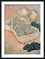 Claude Monet - The Basket of Grapes, 1884  Ingelijste poster