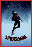 Spider-Man: Into The Spider-Verse – Fall  Ingelijste poster