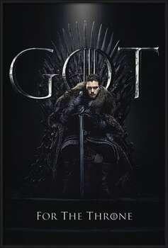 Game of Thrones - Jon For The Throne  Ingelijste poster