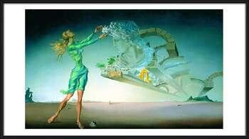 Salvador Dalí – Mirage  Ingelijste poster