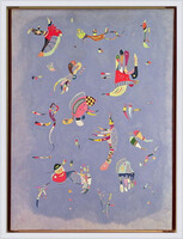 Wassily Kandinsky - Sky Blue  Ingelijste poster