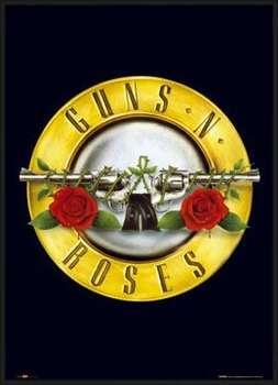Ingelijste poster Guns'n'Roses - logo
