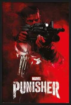 Ingelijste poster The Punisher - Aim