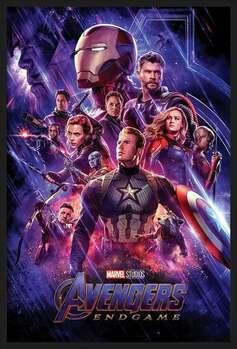 Ingelijste poster Avengers: Endgame - Journey's End