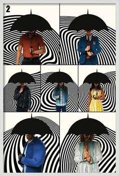 Ingelijste poster The Umbrella Academy - Family