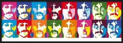 Beatles - sea of colour Poster