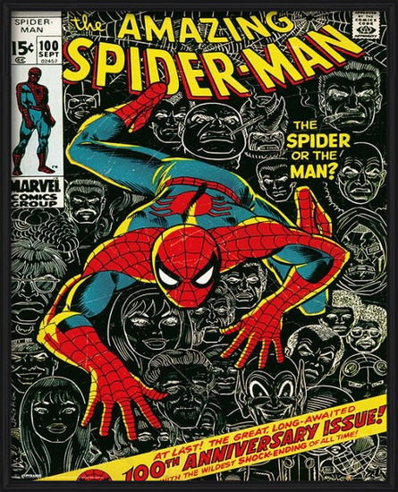 Mini - MARVEL - spider-man cover Poster
