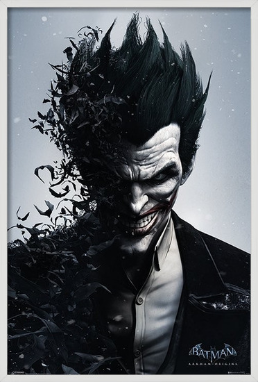 BATMAN ARKHAM ORIGINS - joker Poster