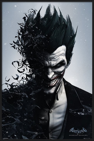 BATMAN ARKHAM ORIGINS - joker Poster
