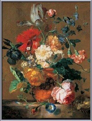 Bouquet of Flowers Kunstdruk