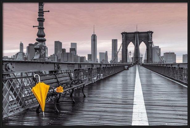New York Kamer Accessoires : New York Brooklyn Bridge