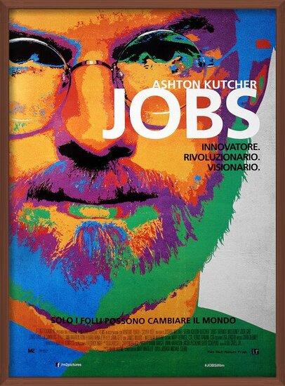 Jobs - Ashton Kutcher as Steve Jobs Poster