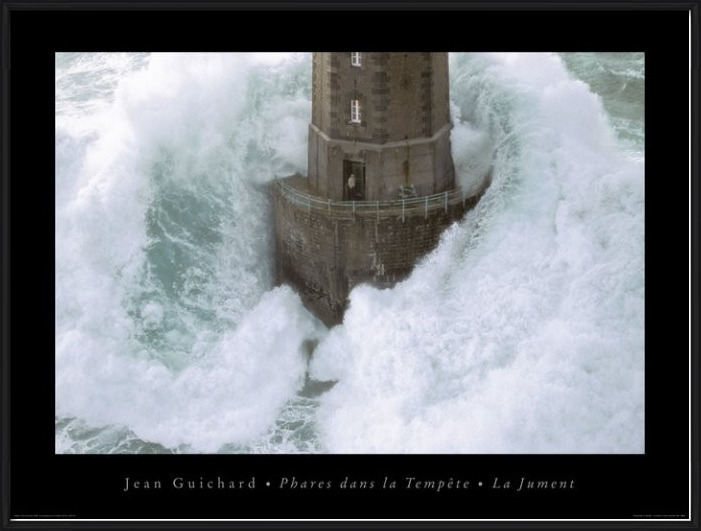 Jean Guichard - Phares Dans La Tempète, La Jument Kunstdruk