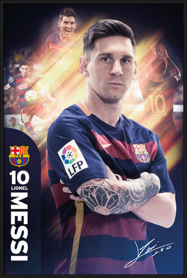 FC Barcelona - Messi 15/16 Poster