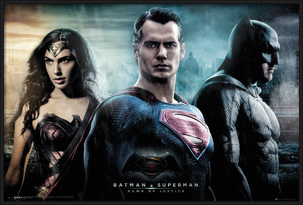Batman v Superman: Dawn of Justice - City Poster