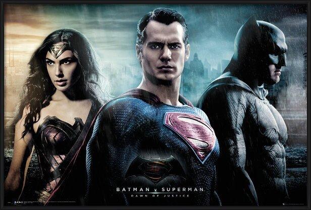 Batman v Superman: Dawn of Justice - City Poster
