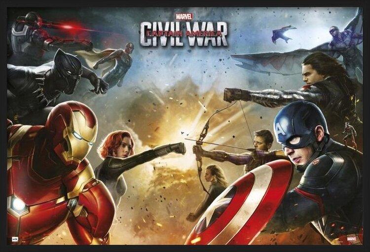 Captain America: Civil War - Teams Poster