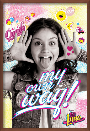 Soy Luna - My Own Way Poster