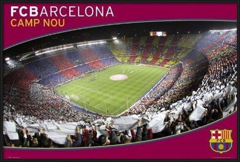 Barcelona - nou camp Poster