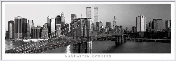 Manhattan - morning Poster