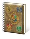 Harry Potter - Hogwart's Crests A5