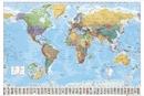 Politieke Wereldkaart - Wandkaart